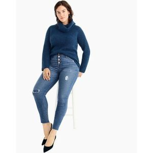 Point Sur Ribbed Turtleneck Chunky Sweater